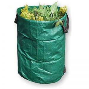 120L Sacs à déchets de jardin, réutilisable pliable jardinage Feuille conteneurs de sacs poubelle Seau de la marque Lembeauty image 0 produit