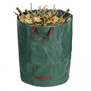 270L Grand sac à déchets de jardin étanche robuste Heavy Duty réutilisable pliable ordures Herbe Sack de la marque Littleduckling image 0 produit