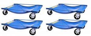 4 chariots de manutention pour voiture chariot de visite 450kg de la marque Herkules Werkzeuge image 0 produit