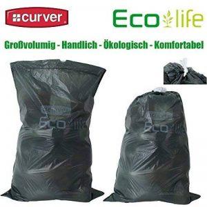 4 Rouleaux de 10 sacs poubelle curver eco life sac de recyclage réduit de 50 l de la marque Curver image 0 produit