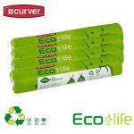 4 Rouleaux de 10 sacs poubelle curver eco life sac de recyclage réduit de 50 l de la marque Curver image 1 produit