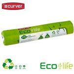 4 Rouleaux de 10 sacs poubelle curver eco life sac de recyclage réduit de 50 l de la marque Curver image 2 produit