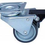4 Roulettes Pivotantes pour Meubles, Chariots, Corbeille de Plage, Atelier, Charge max. 300kg, Diamètre 50mm de la marque Artecsis image 1 produit