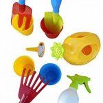 A184 10 pcs. De jeu Toy de soins de jardin pour les petits jardiniers, peuvent donc être jardinage fun de la marque Seruna image 0 produit