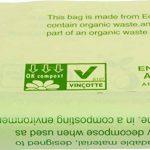 Alina 240L compostables à roulettes Sac poubelle/déchets de jardin Compost Sac/sac poubelle biodégradable Vert 240litre Sac avec Alina Guide de compost, 13 sacks de la marque Alina image 1 produit