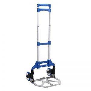 anmas Box pliable main Chariot résistant DIABLE Valise Brouette pliable PARCELLE COFFRE cart - Bleu de la marque Anmas Box image 0 produit
