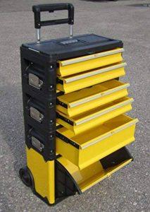 ASS PROFI Chariot à outils en acier 5 tiroirs et bac pliable Solidité à toute épreuve de la marque AS-S image 0 produit