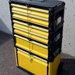 ASS PROFI Chariot à outils en acier 5 tiroirs et bac pliable Solidité à toute épreuve de la marque AS-S image 2 produit