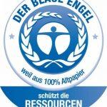 beeco 01720161Enveloppes DIN recyclage avec impression intérieure, verte lot de 500Enveloppes à patte autocollante, long 110x 220mm, 80g, blanc de la marque Beeco image 1 produit