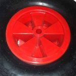 Blackpoolal 12 '' Réducteur complet d'axe de pneu de roue de brouette 16mm pour le chariot de jardin/brouette/GO CART/camion de remorque de la marque Blackpoolal image 3 produit
