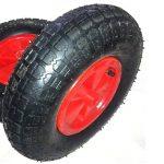 Blackpoolal 12 '' Réducteur complet d'axe de pneu de roue de brouette 16mm pour le chariot de jardin/brouette/GO CART/camion de remorque de la marque Blackpoolal image 4 produit