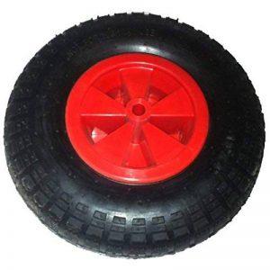 Blackpoolal 12 '' Réducteur complet d'axe de pneu de roue de brouette 16mm pour le chariot de jardin/brouette/GO CART/camion de remorque de la marque Blackpoolal image 0 produit