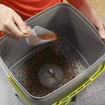 Bokashi Poubelle Organico de compostage pour déchets de cuisine - Poubelle de compostage pour micro-organismes efficaces (Noir / Vert) de la marque Skaza - mind your eco image 3 produit