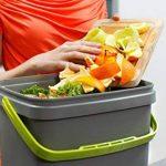 Bokashi Poubelle Organico de compostage pour déchets de cuisine - Poubelle de compostage pour micro-organismes efficaces (Noir / Vert) de la marque Skaza - mind your eco image 4 produit