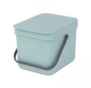 Brabantia Sort & Go Poubelle Plastique Mint 6 L de la marque Brabantia image 0 produit