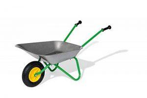 Brouette en métal, Air Tyre, Couleur Gris/Vert de la marque rolly toys image 0 produit