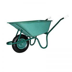 Brouette en PVC Indéformable pour jardin avec roue pneumatique Maurer 100lt de la marque MAURER image 0 produit