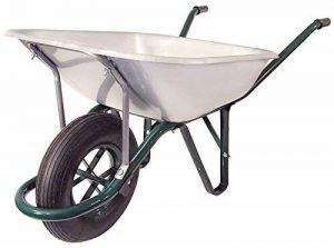 Brouette galvanisée - roue gonflable - 90 L de la marque altrad image 0 produit