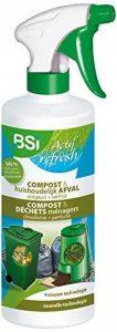 BSI Actif Refresh Compost & Conteneur Désodorisant pour Déchet de maison/jardin 500 ml de la marque BSI image 0 produit