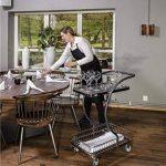 C-Line Chariot professionnel Grille Chariot de qualité industrielle | Chariot, Chariot de transport | Grande Souplesse, facile à manœuvrer kommi sionier Chariot de la marque Erhard-Trading Industriebedarf image 1 produit
