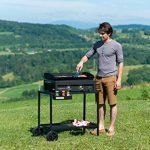 Campingaz Chariot Universel pour Plancha à Poser avec 2 Roues Acier Noir L82 x P46 x H73cm de la marque Campingaz image 4 produit