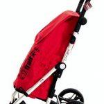 CARLETT LETT450-2 Chariot de Course, Aluminium, Rouge, 62 x 19 x 29 cm de la marque CARLETT image 1 produit