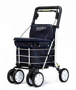 CARLETT LETT800-1 Chariot de Course, Aluminium, Bleu, 83 x 49 x 27 cm de la marque CARLETT image 0 produit