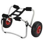 [casa.pro]® Chariot de kayak pliable Transportation Kayak Canoe Max. 70 kg Aluminium de la marque [casa.pro]® image 1 produit