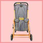 Chariot de courses de vente au Par Plus de la Brouette de la Brouette de la Brouette du poids léger pliable léger de grande taille du chariot de shopping de la marque jiaminmin image 1 produit