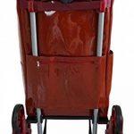 Chariot de courses imperméable et Monte Escalier - Poignée Télescopique – Capacité 44L - Marque Bo Time de la marque Bo Time image 3 produit