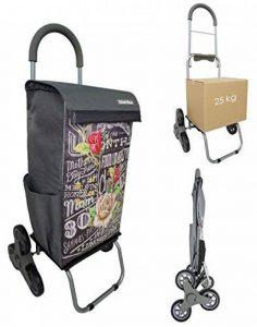 Chariot de courses Monte-Escalier BO TIME - Double utilisation - Capacité 40L de la marque Bo Time image 0 produit