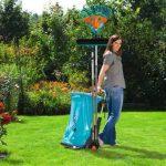 Chariot de jardin mobile de GARDENA: chariot polyvalent pour le jardin, avec un chariot à main intégré, roues adaptées à la pelouse (232-20) de la marque Gardena image 2 produit