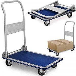 Chariot de transport diable platforme pliable 150kg Roues en caoutchouc de la marque DEUBA GmbH & Co. KG. image 0 produit