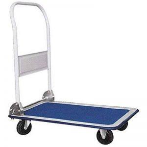 Chariot de transport pour entrepôt - capacité de charge 150 kg 70 x 46 cm Chariot de transport de la marque TradeDrive image 0 produit