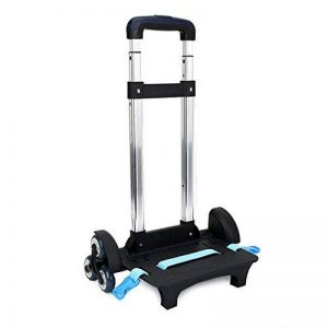 Chariot à dos - Chariot à roulettes en alliage d'aluminium à la main et chariot à chariot pliant pour sac à dos de la marque IvyH image 0 produit