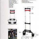 chariot pliable aluminium TOP 11 image 4 produit