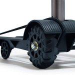 Chariot pliable de bagage de main avec la capacité de charge forte Maintenez le chariot de chariot à achats de bagage avec la poignée extensible Bungee flexible pour déplacer les articles lourds , black , 97*25*34cm de la marque WANGXN image 2 produit