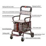 chariot à provisions 4 roues TOP 6 image 1 produit
