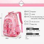 chariot sac à dos Enfants à roulettes avec housse de pluie pour les garçons et les filles de l'école de la marque JOYIN image 4 produit