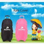 chariot sac à dos Enfants à roulettes avec housse de pluie pour les garçons et les filles de l'école de la marque JOYIN image 6 produit