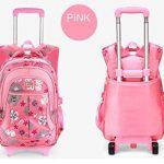 chariot sac à dos Enfants à roulettes avec housse de pluie pour les garçons et les filles de l'école de la marque JOYIN image 1 produit