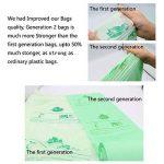 Compostables Cuisine Caddy Sacs – 100 BioBag déchets alimentaires Compost 6L / 10L /30L – en13432 – Sacs Poubelle biodégradables avec guide de compost (6L) de la marque Kumoya image 3 produit