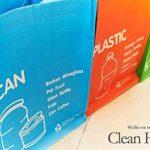Corbeille–étanche séparé Sac de recyclage déchets paniers Ensemble de 3couleurs de la marque LIVINGTOPIA image 2 produit