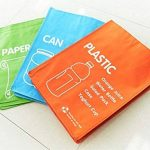 Corbeille–étanche séparé Sac de recyclage déchets paniers Ensemble de 3couleurs de la marque LIVINGTOPIA image 3 produit