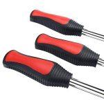 Cuillères Outil Levier de Pneu Mookis 3 cuillères outil pneumatique levier avec 3 jante Protecteurs pour Accessoire Auto Moto de la marque Mookis image 4 produit