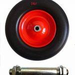 D&F Roue de brouette pneumatique de la marque D&F image 1 produit