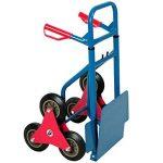 Diable repliable extensible 200kg 3 roues - Transport Chariot pliable escalier de la marque Deuba image 3 produit