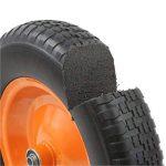 DJM Brouette de jardin en métal robuste avec pneu anti-crevaison 90litre/180kg de la marque DJM Direct image 3 produit