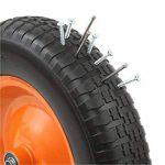 DJM Brouette de jardin en métal robuste avec pneu anti-crevaison 90litre/180kg de la marque DJM Direct image 4 produit