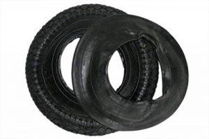 DKB Pneu + chambre à air pour roue de brouette 400 x 100 mm 4.80 / 4.00–8 de la marque image 0 produit